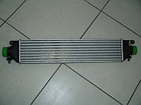 Радиатор интеркулера на Фиат Добло(Fiat Doblo)2012