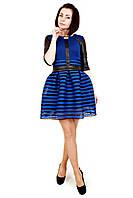 Платье женское Барби синее