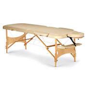 Стол массажный складной деревянный Пчелка