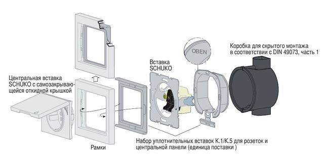 Влагозащита IP44