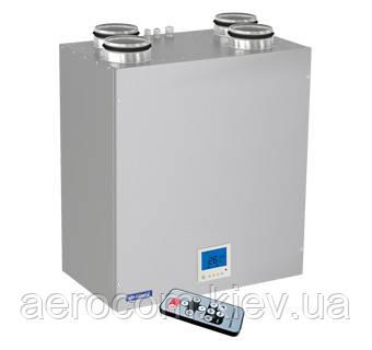 Приточно-вытяжная установка с рекуперацией ВУТ 300 ЭВ мини ЕС, фото 1