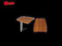 Приставной элемент стола на металлической опоре
