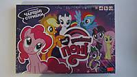 Настольная игра Мои любимые Пони на укр. яз Danko Toys.Настольная игра My little pony (Мой маленький пони).Нас