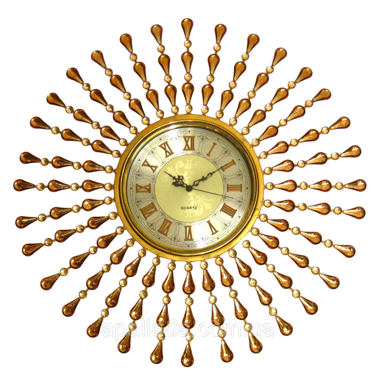 """Часы настенные """"Лучи"""" 68 см."""