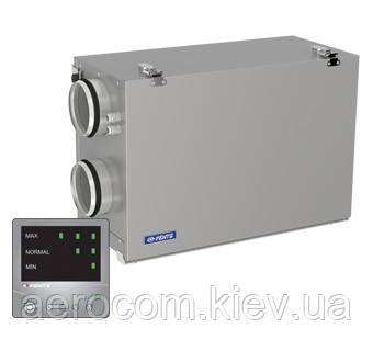 Приточно-вытяжная установка с рекуперацией ВУТ 300 Г мини ЕС Комфо