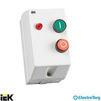 Контактор КМИ11860 18А в оболочке с индикатором Ue=230В/АС3 IP54 ИЭК (IEK)