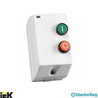 Контактор КМИ10960 9А в оболочке Ue=220В/АС3 IP54 ИЭК (IEK)