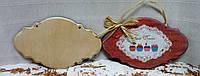 Заготовка Панно декоративное - 3  (с фрезой) с 2-мя отверстиями