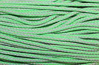 Шнур акрил 6мм. (100м) трава+св.серый , фото 1
