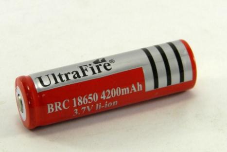 Аккумулятор для фонаря BL-18650 4200 mAh