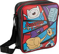 Молодежная сумка-планшет вертикальная 576 Adventure Time, фото 1