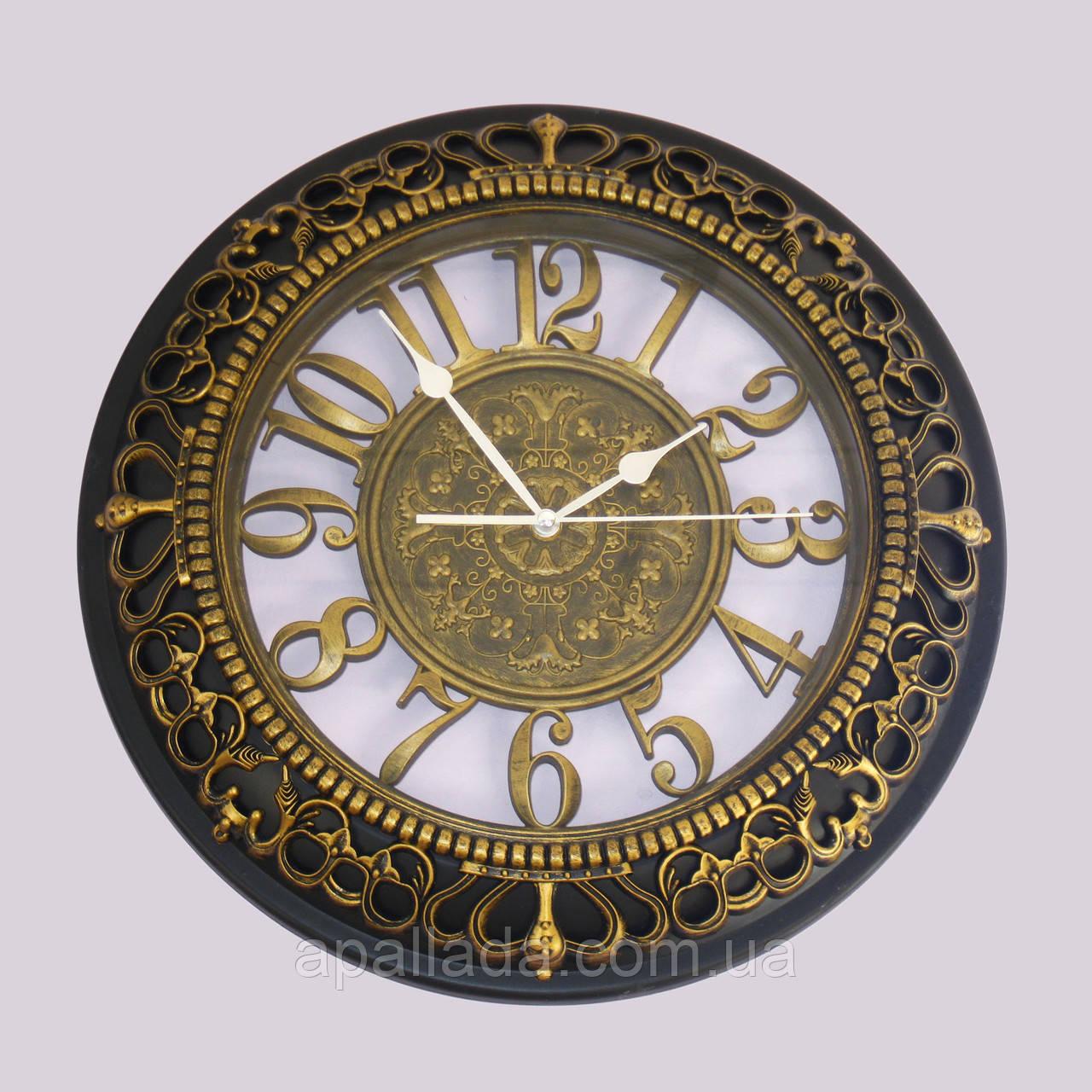 Часы под бронзу 41 см.