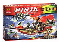 """Конструктор Bela Ninja """" Корабль Дар Судьбы - Решающая битва"""" 10402 (аналог LEGO Ninjago 70738)"""