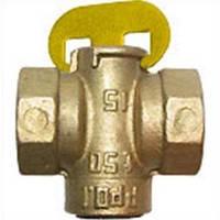 Кран газовый пробково-сальниковый, муфтовый 11ч6бк Д15