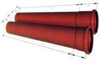 Труба канализационная ПВХ наружная D110х1000мм