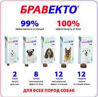 Бравекто жевательная таблетка (MSD Animal Health,Австрия)
