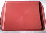Поднос столовый (разных цветов) 50*40 см  полипропилен, Украина, фото 2