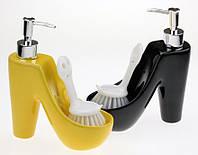 Туфелька - дозатор со щеткой