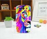 Чехол для Samsung Galaxy Core2 G355 панель накладка с рисунком краски, фото 2