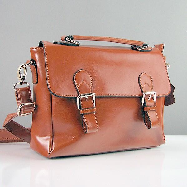 6e1ab787df33 Коричневая сумка-портфель женская кожаная с ремешком: продажа, цена ...