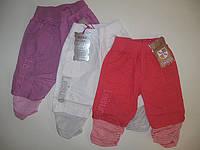 Бриджи коттоновые для девочек, размеры 1,2.5 лет, арт. FS-06