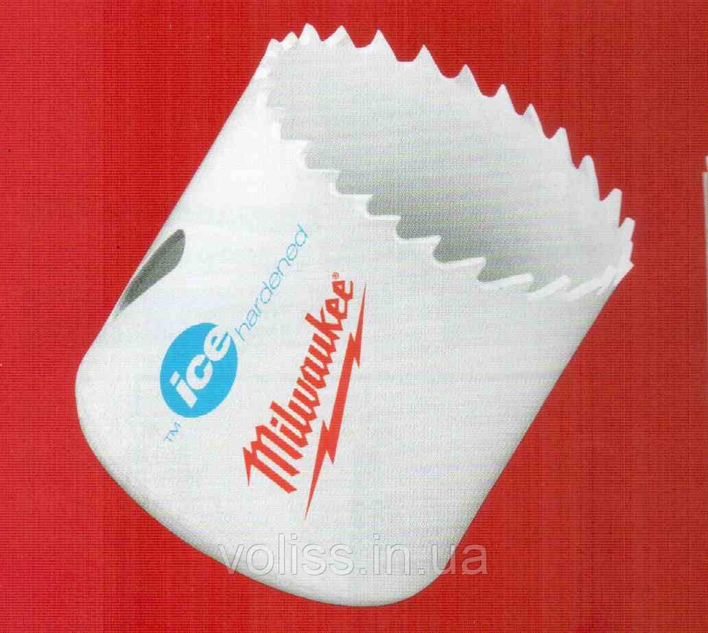Коронка биметаллическая Milwaukee ф 22 мм