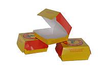 Упаковка для гамбургеров с индивидуальнным дизайном
