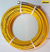 """Шланг высокого давления DN6 длиной 15 м, 1/4"""" 27 MПа (желтый)"""