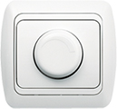 Светорегулятор (диммер) 800Вт EL-BI, TUNA белый Фикслайн