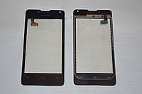 Оригинальный тачскрин / сенсор (сенсорное стекло) для Huawei U8833 Ascend Y300 | Ascend Y300D (черный) + СКОТЧ