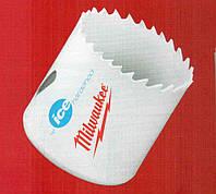 Коронка биметаллическая Milwaukee ф 52 мм