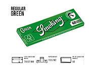 Сигаретная бумага 1007 Smoking 70 мм №8 зеленая 60лист/50уп (43264)