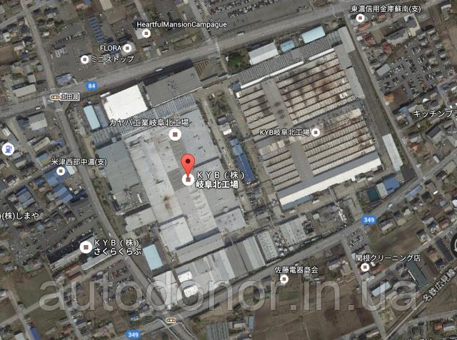 завод каяба в японии