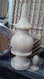 Винтовые балясины из дуба, ясеня, сосны, фото 6