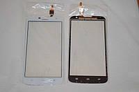Оригинальный тачскрин / сенсор (сенсорное стекло) для Huawei Ascend G730 (белый цвет, чип Synaptics) + СКОТЧ