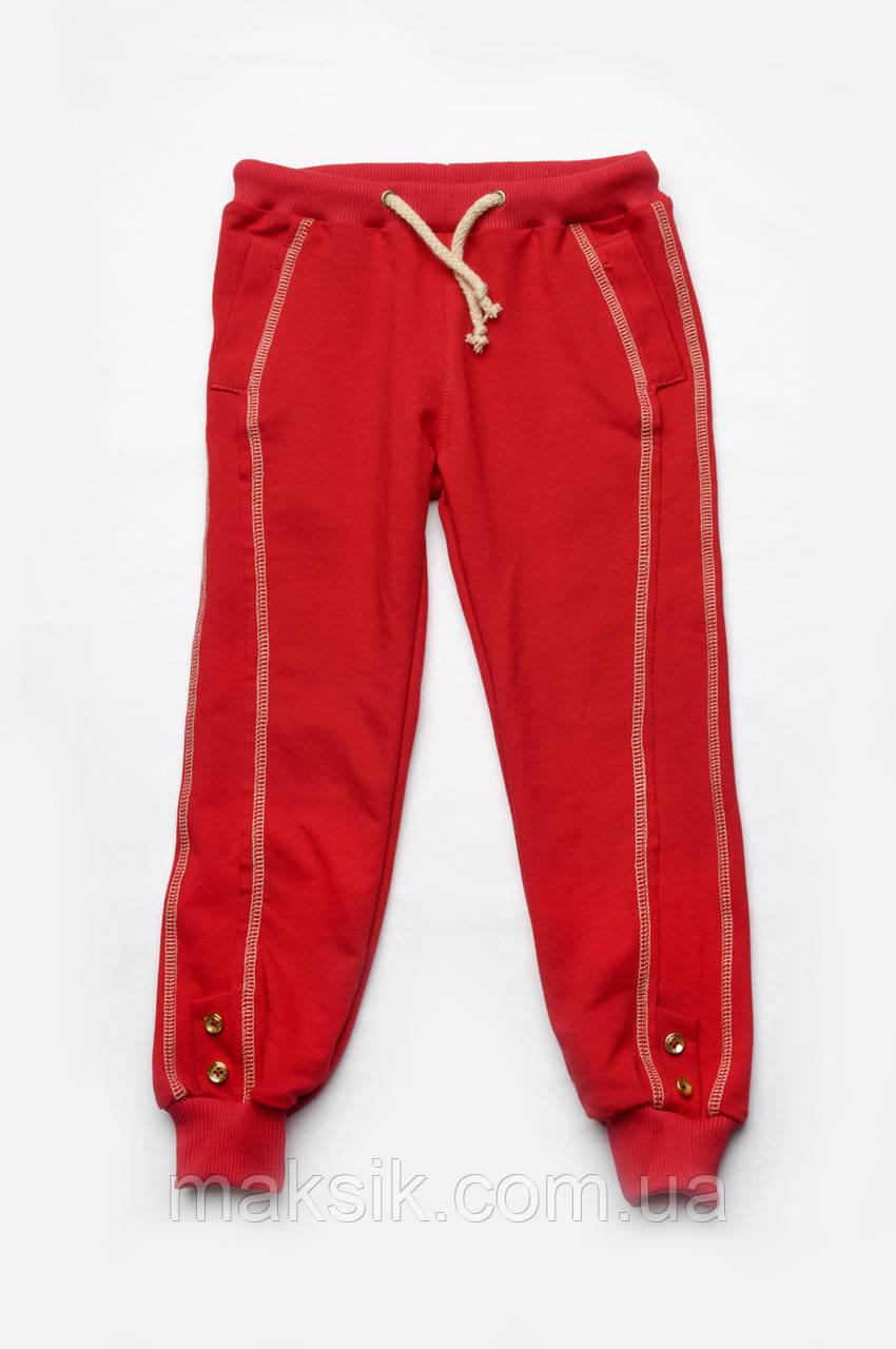 Спортивные брюки для девочки р.98-128см