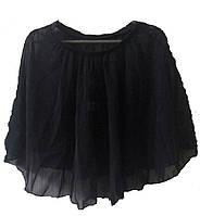 Юбка для занятий танцами  сетка черная