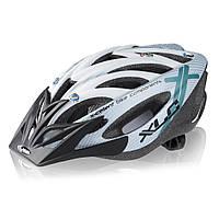 Шлем XLC Mt.Kenia, серебристо-белый, Uni (52-60)
