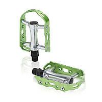Педалі XLC PD-M15, 241 гр, сріблясто-зелені