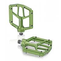 Педали XLC PD-M14, 318 гр, зеленые