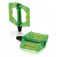 Педалі XLC PD-M16, 326 гр, зелені