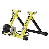Велостанок XLC Gamma 6 уровней сопротивления, складной, желтый