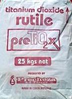 Пігмент білий Pretiox FS, діоксид титану, Чехія. Пігмент для бетону, тротуарної плитки, розшивки швів.