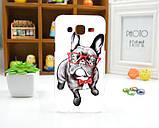 Чехол для Samsung Galaxy Core Prime G360 панель накладка с рисунком три кота, фото 2