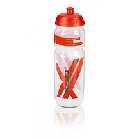 Фляга XLC WB-K03, 750 мл, прозрачно-красная