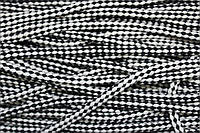 Шнур ХБ 8мм. (100м) черн.+белый, фото 1