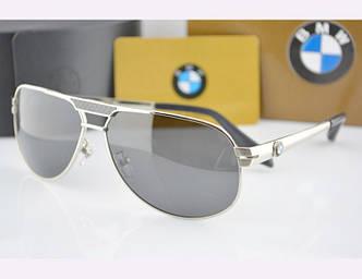 Солнцезащитные очки BMW (81007) silver SR-039