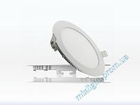 Светодиодный светильник 12W Bellson круг 6000K