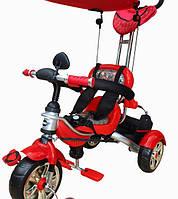 Детский велосипед трехколесный с ручкой Mars Trike KR01 аниме красный, фото 1