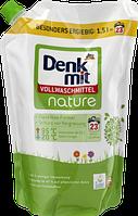 Denkmit Vollwaschmittel nature- Жидкое органическое средство для стирки, 23 стирок